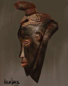African art study for #Mooeti  #africa #african #art #mask #tribal #ethnicart #ipadpro #ipadproart #ipadproartist #procreate #procreateart #procreateartist #procreateapp #ipencil