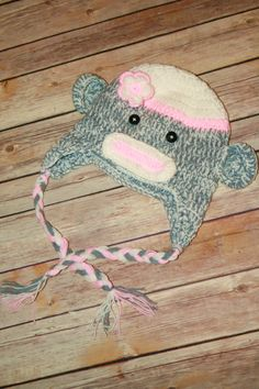 This hat fits children 25 years of age by CuddleBunnyCouture, $25.00