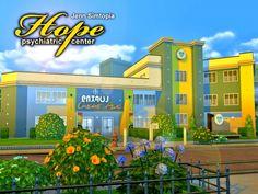 Hope Psychiatric Center by Jenn_Simtopia at TSR • Sims 4 Updates