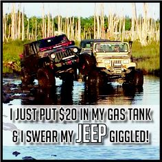 JEEP - Just Empty Every Pocket...truth!