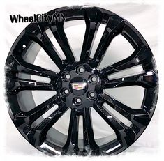 24 inch gloss black 2019 Cadillac Escalade OE replica wheels NEW 24 Rims, 22 Inch Rims, Truck Rims And Tires, 2018 Silverado, Replica Wheels, Black Rims, Cadillac Escalade, Things To Sell, Ebay