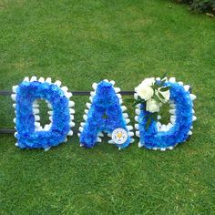 Blue DAD Tribute in Leicester City FC colours