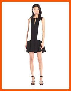 Parker Women's Ronan Combo Dress, Black/Pearl, X-Small - All about women (*Amazon Partner-Link)