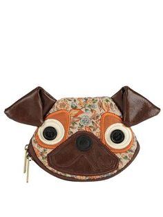 Ollie & Nic Penny the Pug Purse, £21.00