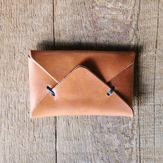 Envelope Wallet - Light Tan