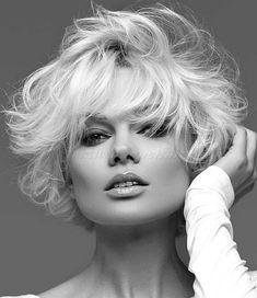 rövid hullámos frizurák - hullámos rövid női frizura