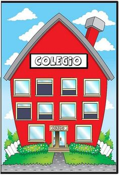 Orla Infantil, Leaving Party, English Time, Carson Dellosa, School Clipart, House Drawing, Classroom Decor, Banner, Clip Art