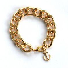 Nautical Gold Chain Bracelet $16