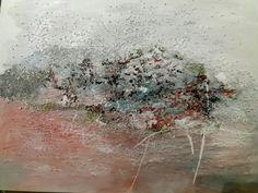 Acryl & sand Tarja Puumalainen painting 2018