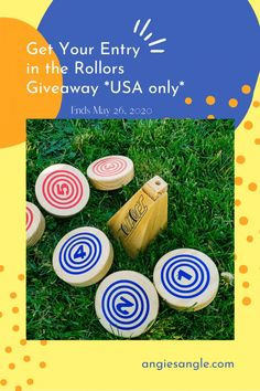 We had so much fun playing Rollors. This means I am even more excited to give you the chance to win your own set in this Rollors giveaway! Ends Fun Games, More Fun, You Got This, Giveaway, Cool Games