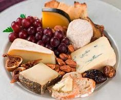 Cheese platters.