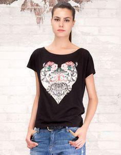 Camiseta print floral - 9.95€