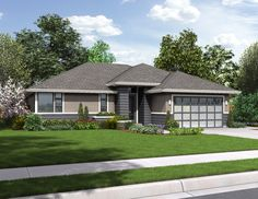 This 1 story Modern features 1608 sq feet. Call us at 866-214-2242 to talk to a House Plan Specialist about your future dream home!