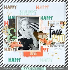 Happy Friday Designer @raquelp is up on our blog with her very first creation And it's sooo gorgeous She used our #october2015 kits featuring @pinkpaislee @pebblesinc @ashleyhorton75 @americancrafts @dearlizzy #hipkitclub #hipkits #scrapbooklayout