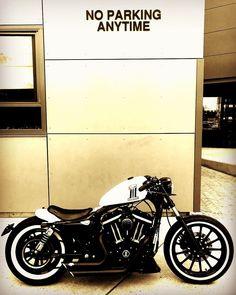 My Sporty Iron 883 custom Harley Davidson Iron 883, Harley 883, Harley Davidson Road King, Harley Bobber, Harley Bikes, Bobber Chopper, Harley Davidson Street, Sportster Cafe Racer, Sportster Motorcycle