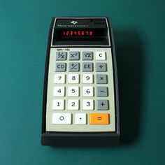 Texas Instruments SR10 calculator  with case by ChompMonster, $10.00