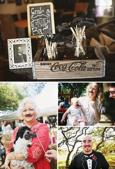 Adorable Vintage Mustache First Birthday Party