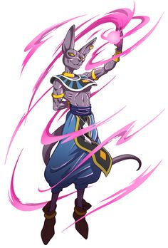 """Lord Beerus from Dragon Ball Z: Battle of the Gods - """"manalon"""" on Tumblr"""