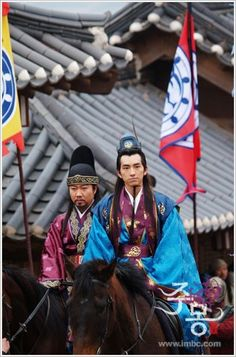 "Jumong (Hangul: 삼한지-주몽 편; hanja: 三韓志-朱蒙篇주몽; RR: Samhanji-Jumong Pyeon; lit. ""The Book of the Three Hans: The Chapter of Jumong"") is a South Korean historical period drama series that aired on MBC from 2006 to 2007. The series examines the life of Jumong, founder of the kingdom of Goguryeo. Few details have been found in the historical record about Jumong, so much of the series is fictionalized."