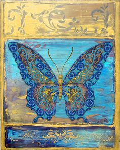 I uploaded new artwork to fineartamerica.com! - 'Fanciful Blue and Yellow Butterfly' - http://fineartamerica.com/featured/fanciful-blue-and-yellow-butterfly-jean-plout.html via @fineartamerica
