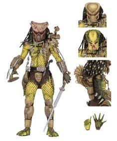 NECA 8in Scale Action Figure 30th Anniversary Jungle Hunter Predator MASKED