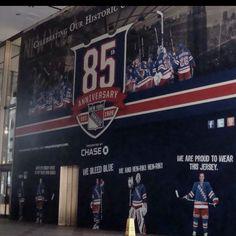 New York Rangers 85th Anniversary Memorial