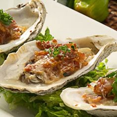 Spicy Jalapeño Bacon and Cheesy Gulf Oysters | Gulf Coast Seafood