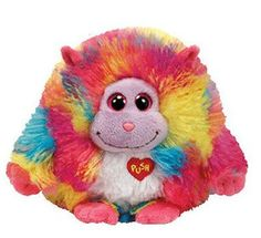 Monstaz  Willy- Monster  Größe: 15 cm Farbe:  Regenbogen