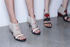 Best in Shoe: See Over 450 Perfect Pairs From the Spring '13 Runways: Helmut Lang
