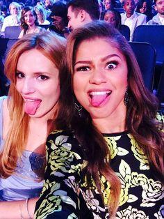 Zendaya Coleman and Bella Thorn
