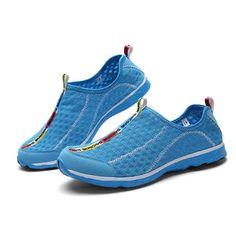 Blau Herren Malha Wasser Schuhe