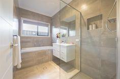 main bathroom tiles Fernbank 238, Display Homes in ACT | G.J. Gardner Homes
