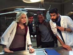 It's the final day of shooting of Season 1 of #iZOMBIE. Couldn't have been a happier experience