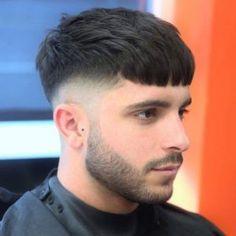The French Crop Haircut: 50 Ideas for a Dash of European Style! The French Crop Haircut: 50 Ideas for a Dash of European Style! Haircuts For Long Hair With Bangs, Short Hair Cuts, Hairstyles With Bangs, Short Pixie, Long Bangs, Short Men, Medium Hairstyles, Crop Haircut, Fade Haircut