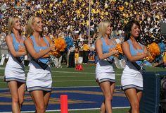 UCLA cheerleaders game, sports, #Cheer, cheerleading college collegiate