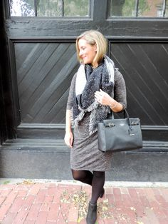 Monochromatic in gray & black  Shades of Gray-Boston Chic Party