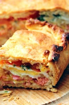 Low FODMAP Recipe and Gluten Free Recipe - Bacon & egg pie http://www.ibs-health.com/low_fodmap_recipe_bacon_egg_pie.html