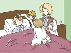 by ~invisibleinnocence - Hetalia FACE - England / America / Canada / France (:D…