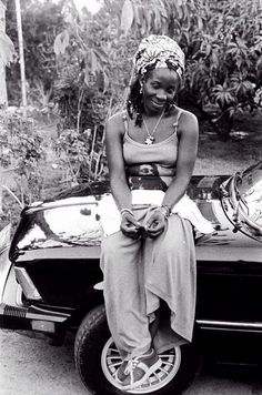 A Brown Lady....RITA MARLEY, Kingston, Jamaica, '80 © Lindsay Oliver Donald http://junkystravels.weebly.com/jamaica.html