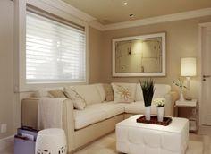 decorao de sala pequena tendncias simples barata e moderna