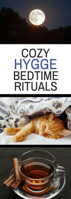 Cozy Hygge Bedtime Rituals to Try - embrace the hygge lifestyle by trying some ideas to change your bedtime routine.