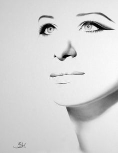 Barbra Streisand dibujo fina lámina retrato a por IleanaHunter