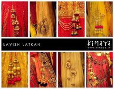 bridal saree blouse latkans - Google Search