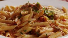Penne with Spicy Vodka Tomato Cream Sauce Video