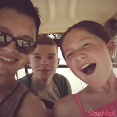 Noel Fisher, Cameron Monaghan & Emma Kenney