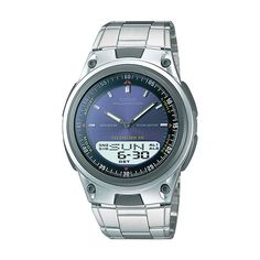 Casio watches at Kohl's - This men's Casio Forester databank analog and digital chronograph watch is the perfect accessory. Come shop our wide selection of Casio watches at Kohl's. Cheap Watches For Men, Authentic Watches, Watch Service, Watch Case, Sport Watches, Digital Watch, Casio Watch, Quartz Watch, Chronograph