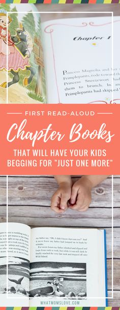 First Read-Aloud Chapter Book Series. These books are the perfect way to introduce your child to chapters. They feature plenty of dialogue, lots of illustrations (most in color!), short chapters, and have engaging stories and characters. And bonus – they are all part of a larger series, so if your kids love the first one, you have plenty more where that came from. Perfect for boys and girls in pre-school, kindergarten and up.