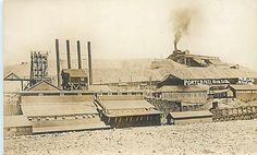 CO, Victor, Colorado, RPPC, Portland Mines No 1 & 2, 1908, Skolas Photo