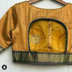 Brocade Blouse Designs, Patch Work Blouse Designs, Simple Blouse Designs, Stylish Blouse Design, Designer Blouse Patterns, Latest Blouse Designs, Brocade Blouses, Sari Design, Anarkali