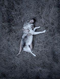 """""""Necessitamos dos lobos para nossa saúde espiritual. Lobos são a síntese da beleza, dignidade e inteligência. São espertos e duros e podem competir com qualquer coisa no mundo, exceto com armas, veneno e armadilhas; ou seja, o homem."""""""